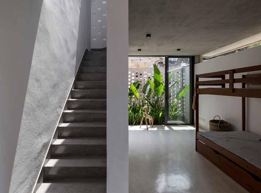 Ngôi nhà ở Hà Nội với không gian ngoài trời trên sân thượng - 17