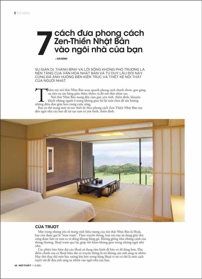 Đón đọc Tạp chí Nội Thất 308 phát hành ngày 01/05 - 4