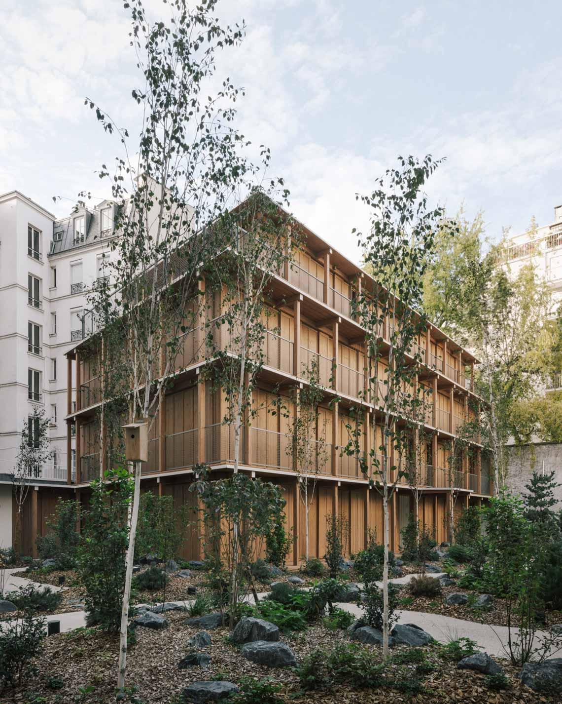 Tòa nhà căn hộ bằng gỗ với thiết kế mang phong cách Nhật Bản - 7