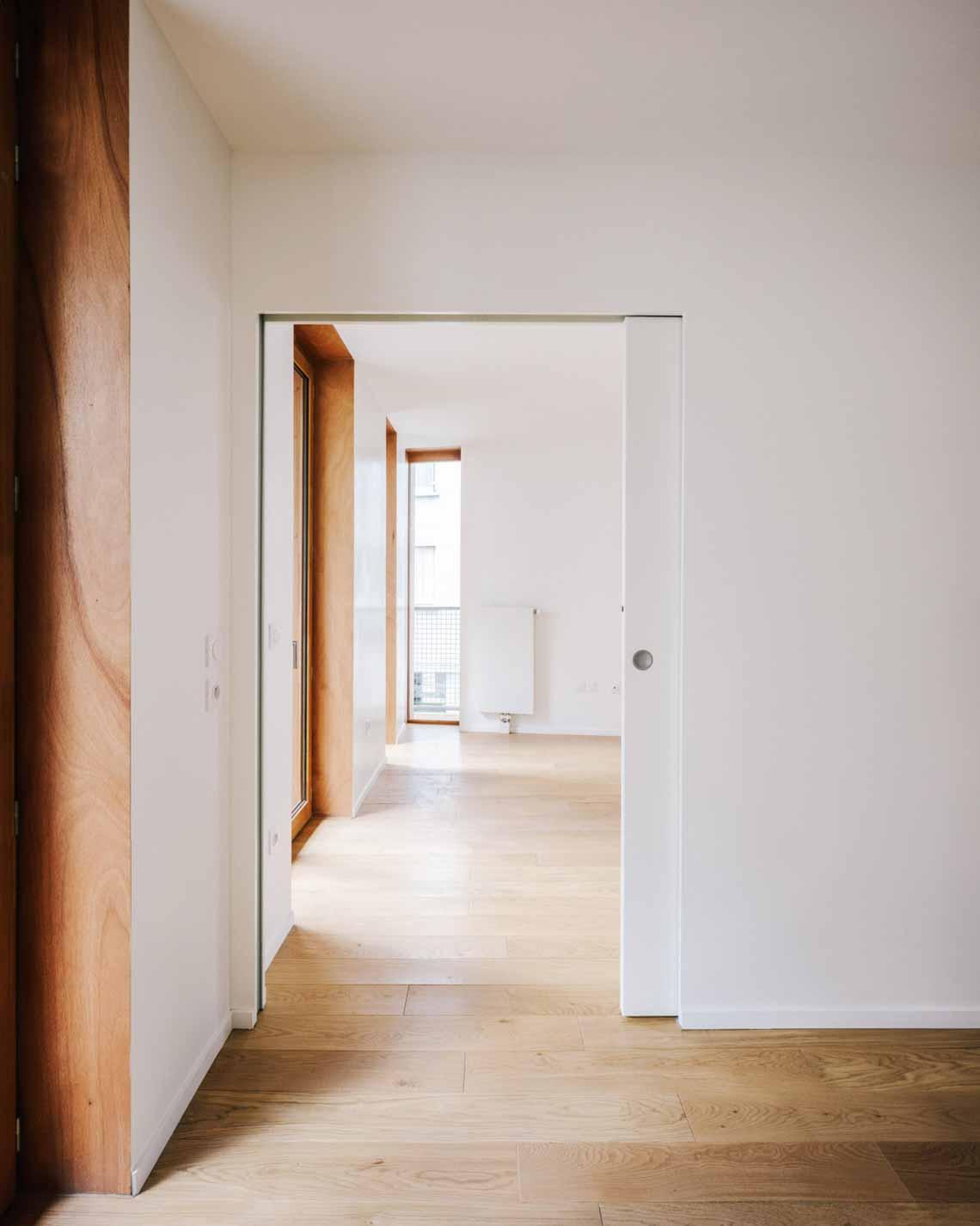 Tòa nhà căn hộ bằng gỗ với thiết kế mang phong cách Nhật Bản - 14
