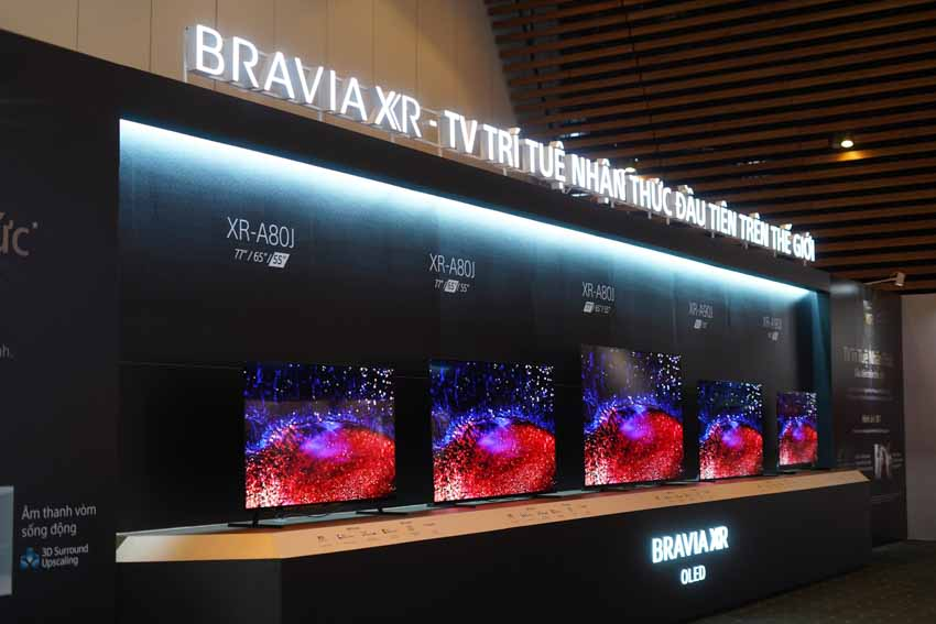 Sony Việt Nam ra mắt thế hệ TV BRAVIA XR tích hợp bộ xử lý trí tuệ nhận thức - 1