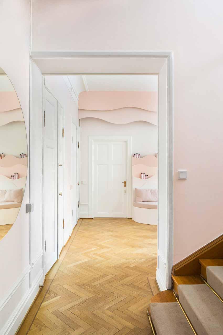 Màu pastel tạo nét độc đáo cho hair salon của thương hiệu Thụy Điển - 12