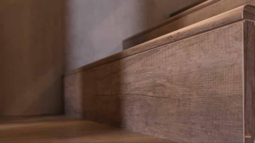 Giải pháp cầu thang gỗ uốn cong - 3