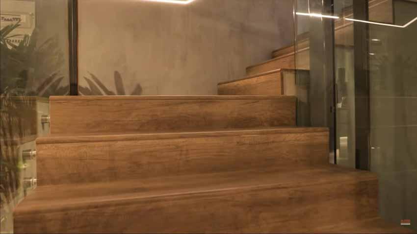 Giải pháp cầu thang gỗ uốn cong - 5