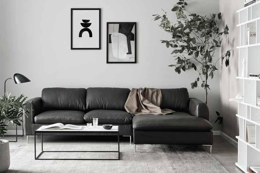 Sofa da và bàn cafe – Sự kết hợp tinh tế tôn vinh phòng khách - 2