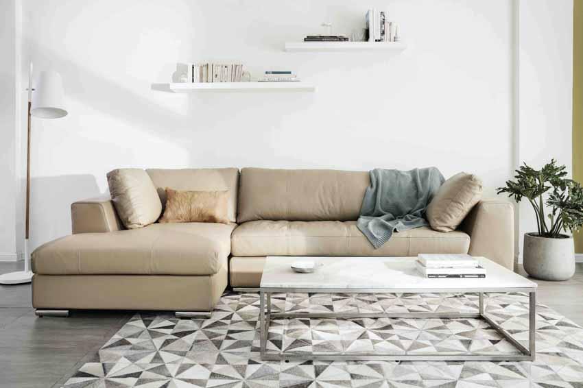 Sofa da và bàn cafe – Sự kết hợp tinh tế tôn vinh phòng khách - 3