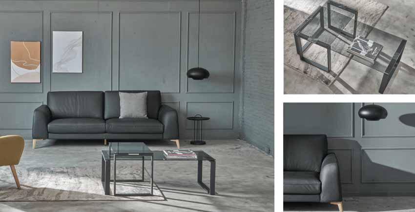 Sofa da và bàn cafe – Sự kết hợp tinh tế tôn vinh phòng khách - 6