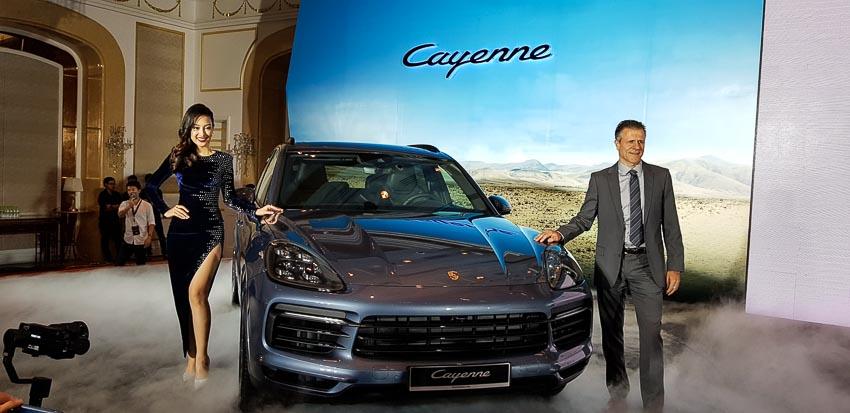 Porsche Cayenne thế hệ mới chính thức được ra mắt tại Việt Nam