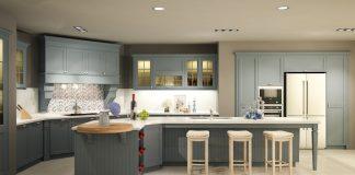 Thiết kế không gian bếp tân cổ điển với BST WISH từ Casta