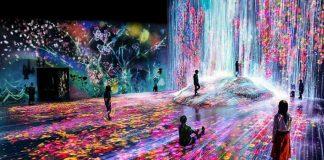 Lạc lối vào thế giới ảo diệu tại bảo tàng kỹ thuật số ở Tokyo
