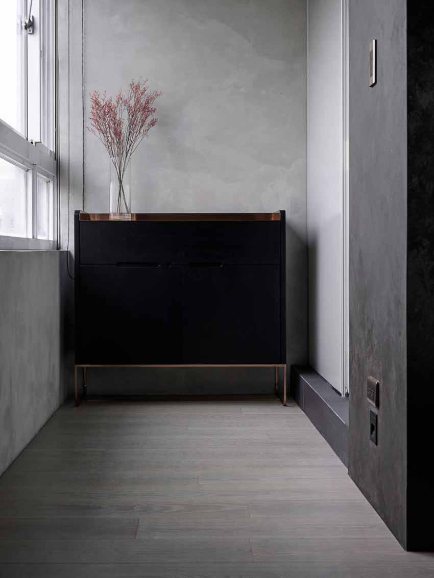 Căn hộ dành cho người độc thân - Căn hộ tông đen ấm cúng