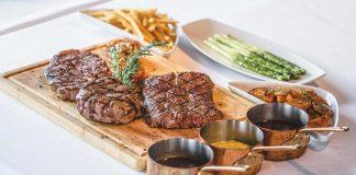 Thưởng thức món bò thượng hạng tại Nhà hàng Signature
