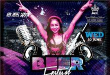 Beer Festival - thỏa sức uống bia, bùng cháy cùng âm nhạc