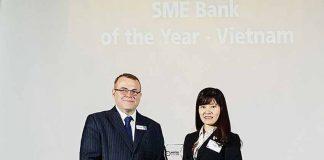 BIDV được bình chọn là ngân hàng phục vụ các doanh nghiệp vừa và nhỏ tốt nhất VN năm 2018