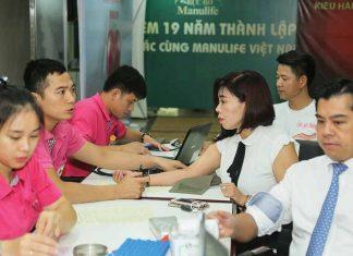 Manulife VN tiếp tục chương trình hiến máu cho cộng đồng