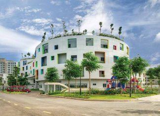 Kiến trúc - nội thất ở Sala Mega Campus - cơ sở mới của VAS