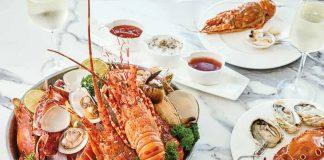 Yến tiệc hải sản tươi ngon tại Nhà hàng Table 88