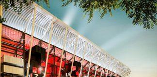 Bản thiết kế sân vận động Ras Abu Aboud Stadium phục vụ cho FIFA World Cup 2022 ở Qatar vừa được tiết lộ