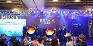 Sony công bố thế hệ tivi Bravia OLED và 4K HDR mới