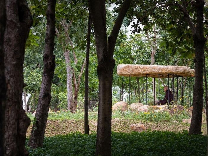 Ngôi chùa – thiết kế của nhóm A21 studio (Nha Trang, Việt Nam)