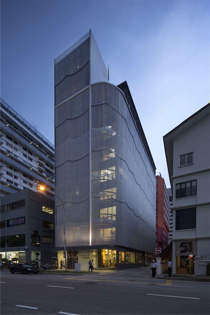 Catholic City Hub – thiết kế bởi Eco-id Architectects (Singapore)