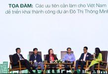 """Hội thảo """"Xây dựng đô thị thông minh - Hướng tới phát triển bền vững"""""""
