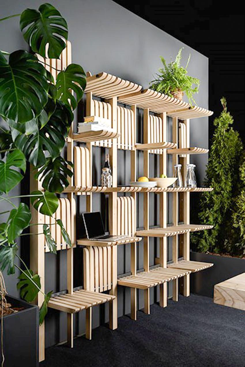 Kệ gỗ đa năng, sử dụng trong nhiều không gian khác nhau