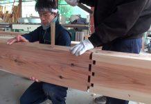 Nhà gỗ ghép trăm năm không hỏng của Nhật