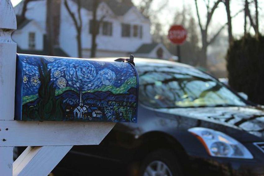 Những chiếc thùng thư đẹp-độc-lạ cho ngôi nhà của bạn