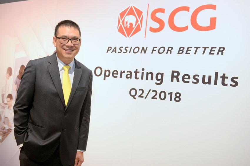 Tập đoàn SCG công bố kết quả hoạt động kinh doanh trong quý II và nửa đầu năm 2018