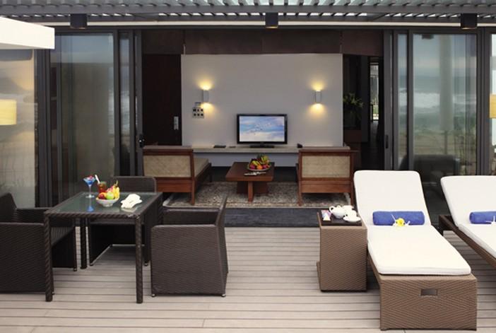 Phòng khách sạn được thiết kế thẩm mỹ, tiện nghi hoàn hảo