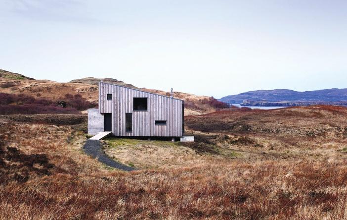 Ngôi nhà nghỉ trên đảo đá