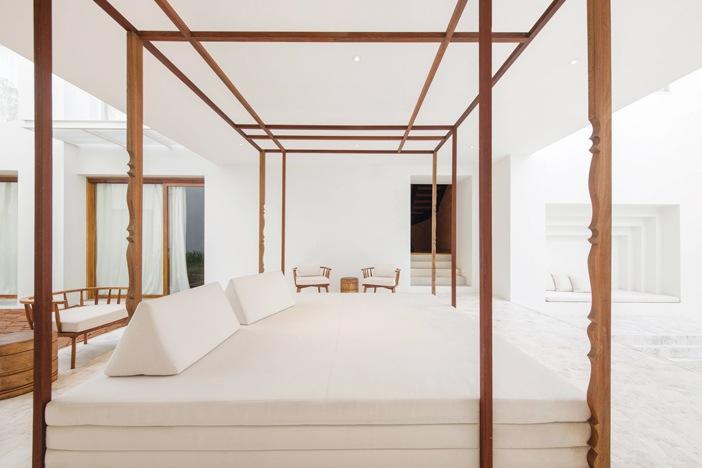 Toàn bộ 26 phòng nghỉ của khách đều là phòng suite