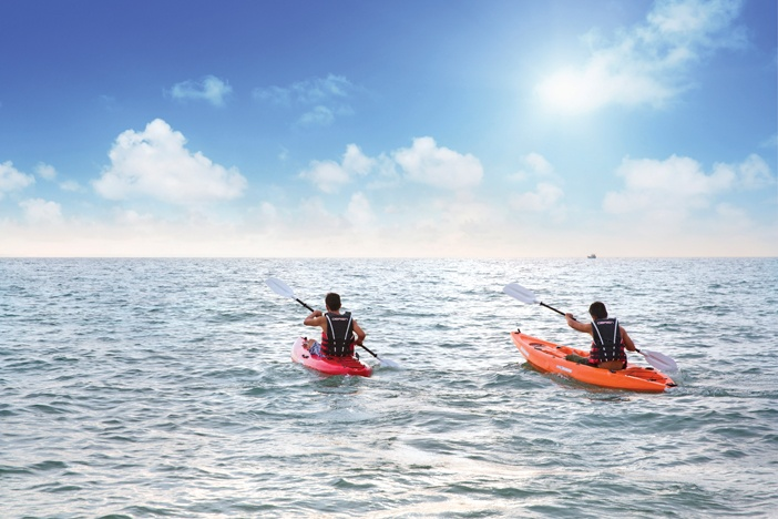 Chèo kayak