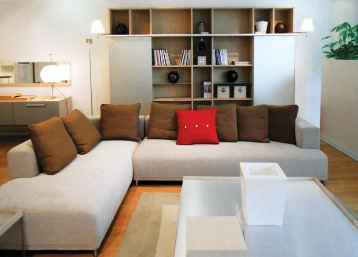 Với căn hộ hiện đại, cần có một số điểm nhấn tươi tắn, màu sắc tương phản để tạo nên cá tính và ấn tượng riêng