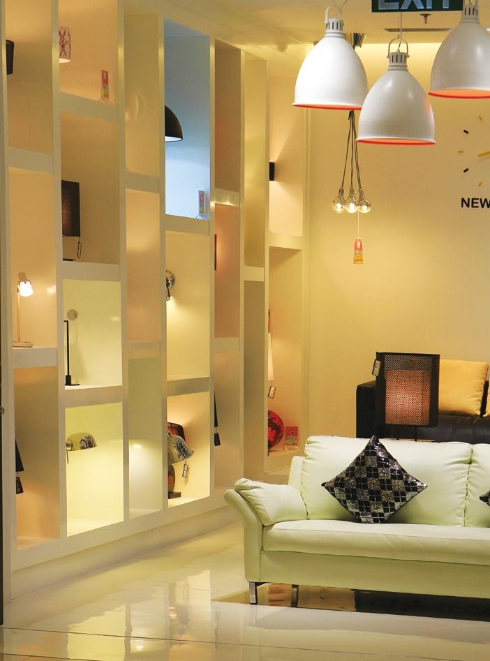 Màu sắc cầu vồng cho không gian trẻ em và màu Thổ - Kim cho không gian kinh doanh đồ nội thất là những lựa chọn hợp phong thủy
