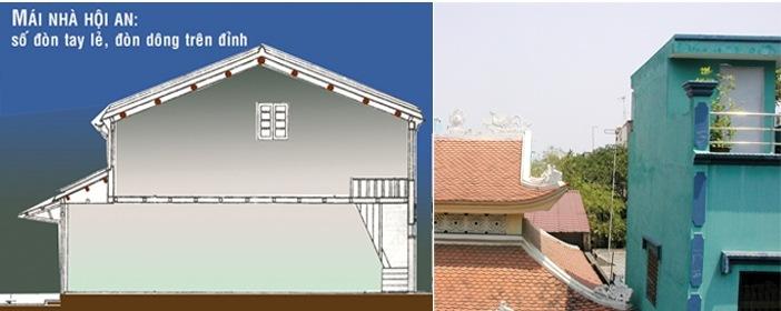 """: Đao đình, mảng tường đầu hồi """"chĩa"""" sang nhà lân cận là kiểu kiêng kỵ phổ biến về mái nhà"""