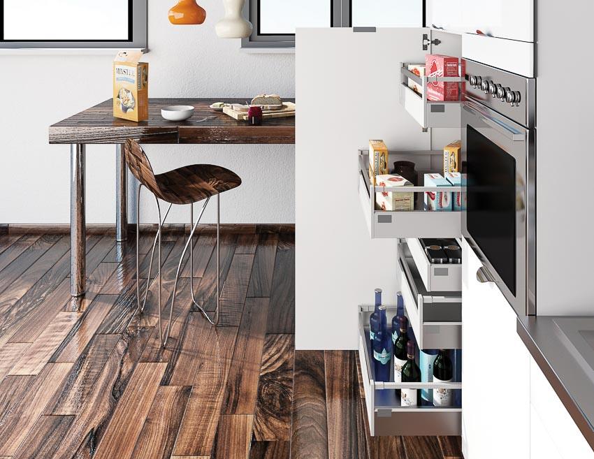 Evoluti, tủ bếp thương hiệu Pháp