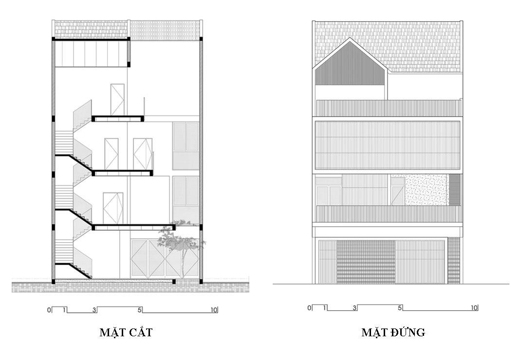 Nối hai ngôi nhà, cộng thêm tiện ích