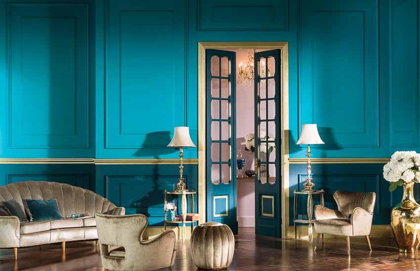 Dấu ấn của gia chủ thể hiện qua màu sơn của ngôi nhà