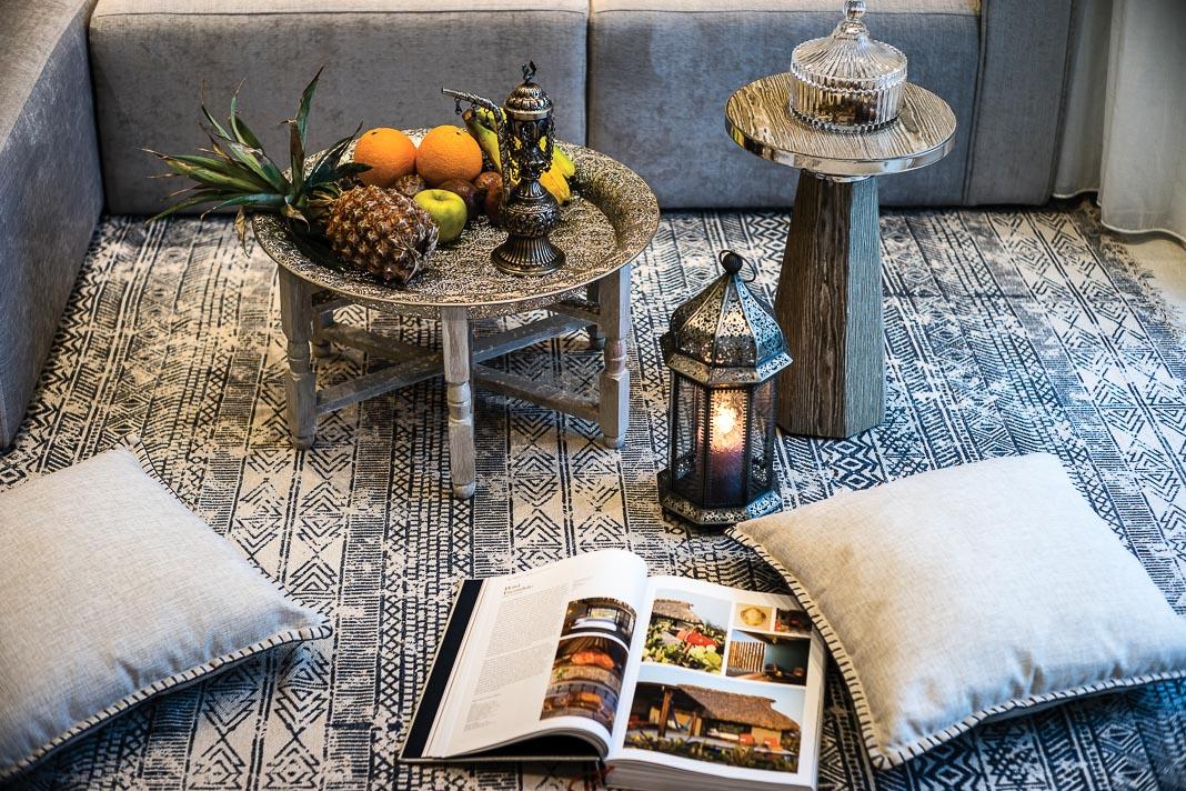 Căn hộ diện tích khiêm tốn phong cách Morocco