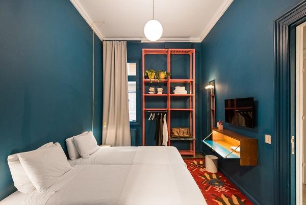 5 mẫu thiết kế nội thất sử dụng màu cam san hô - 6