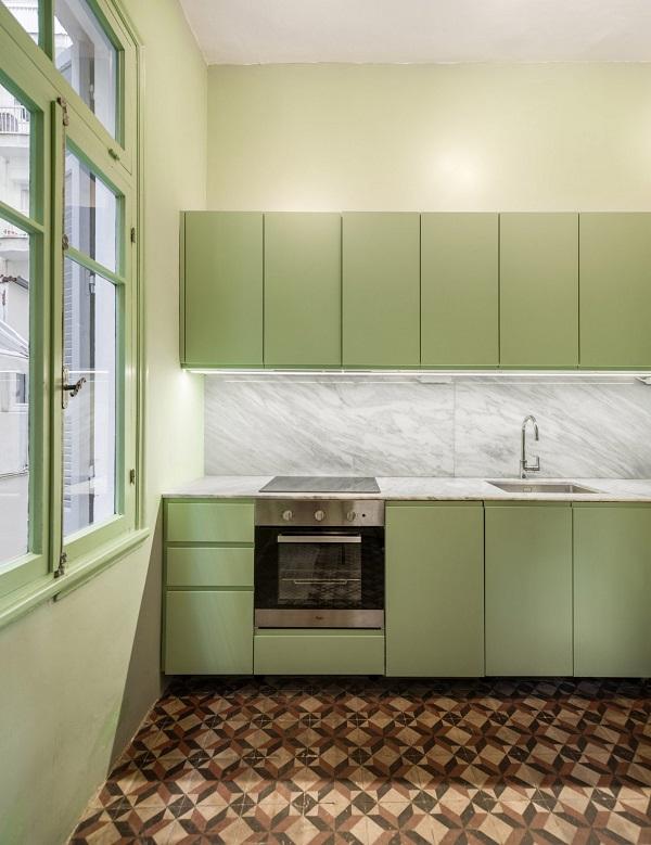 5 mẫu thiết kế nội thất sử dụng màu cam san hô - 8