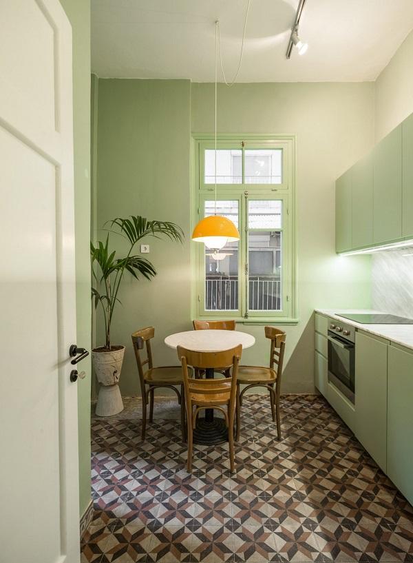 5 mẫu thiết kế nội thất sử dụng màu cam san hô - 9
