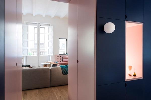 5 mẫu thiết kế nội thất sử dụng màu cam san hô - 17