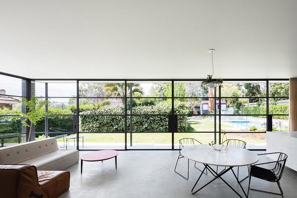 5 mẫu thiết kế nội thất sử dụng màu cam san hô - 20
