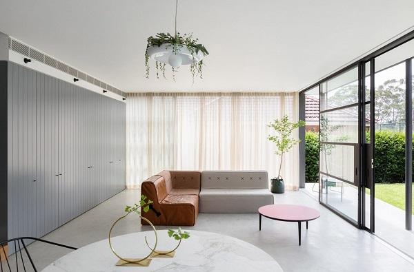 5 mẫu thiết kế nội thất sử dụng màu cam san hô - 21