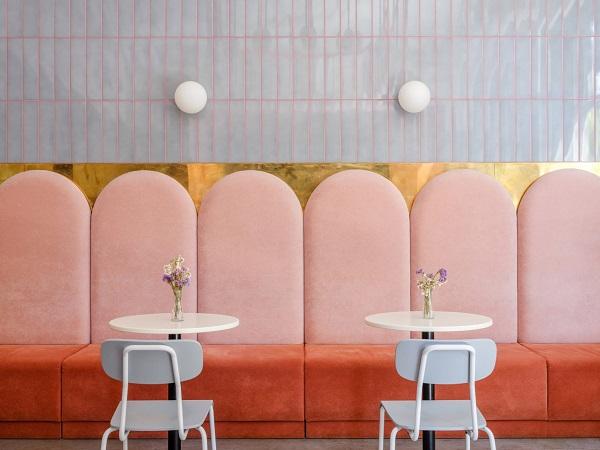 5 mẫu thiết kế nội thất sử dụng màu cam san hô - 4