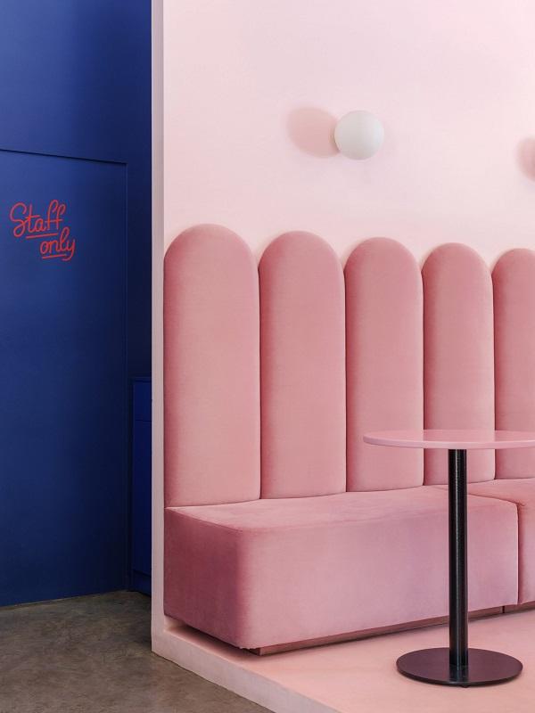 5 mẫu thiết kế nội thất sử dụng màu cam san hô - 2