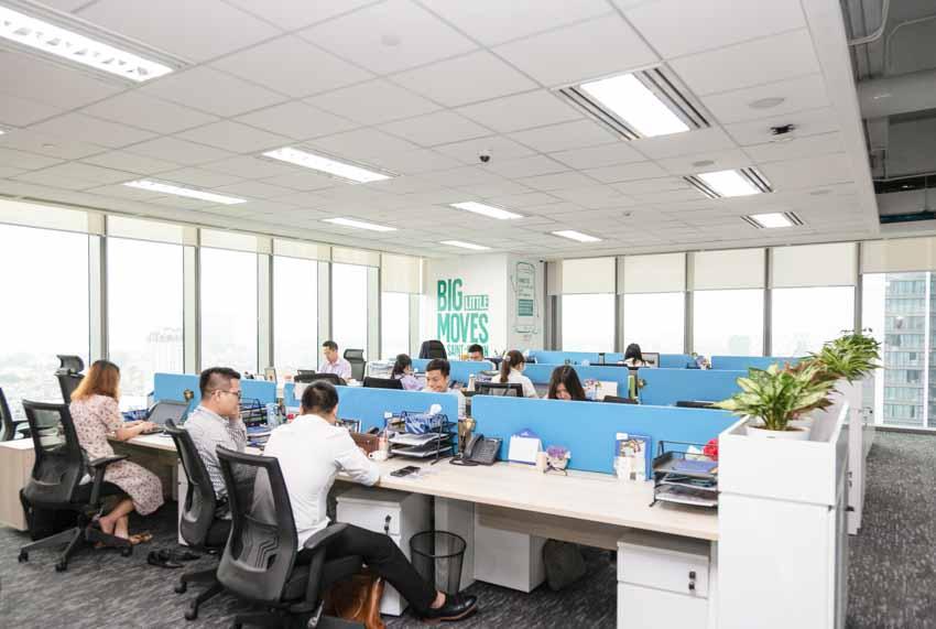Văn phòng Saint-Gobain Việt Nam đạt chứng nhận Công trình Xanh Lotus Gold - 1